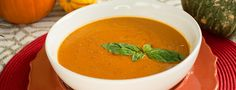 This sweet and savory soup could almost be a dessert soup, as ginger, nutmeg, and cinnamon are spices you find in many sweet potato and pumpkin pie recipes. The onion and garlic temper the sweetness, however, with a savory boost...  Read more