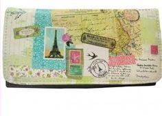 cartera billetera disaster designs carta postal paris