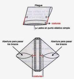 Patrón para tejer un chaleco cuadrado facilisimo - iKnitts.com