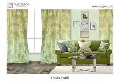 Tenda Batik di @magzero1  Per un salotto sui toni del verde, rilassante e accogliente, scegli la tenda Batik!! / For a relaxing living room, choose batik #taffetas green curtain!! Acquistala on line sul nostro sito web: www.magzero1.it  Se vuoi saperne di più non esitare a contattarci!! Siamo sempre disponibili per fornirvi qualsiasi informazione!! SCRIVICI in DIRECT oppure MANDACI UNA E-MAIL QUI: magzero1@magzero1.it  #magzero1 #tende #curtains #tenda #curtain #verde #green #batik #salotto…