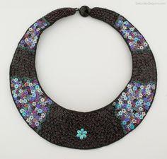 Saturday Sequins: Sequinspiration: Sequin Collars!