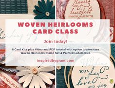 Papercrafting with Friends & Family! I'm offering a simple, easy, Card Class that can be a way for friends and family to spend time together papercrafting, while socially distancing.