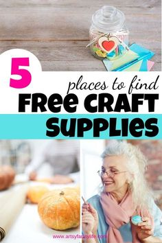 Free Stuff By Mail, Get Free Stuff, Crafts To Make And Sell, How To Make Diy, Adult Crafts, Fun Crafts, Cheap Craft Supplies, Vintage Crafts, Diy Craft Projects