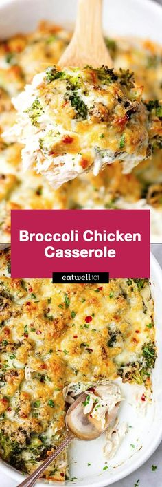 Chicken Casserole with Cream Cheese and Mozzarella Broccoli Chicken Casserole - A loaded and comforting chicken casserole your whole family will love!Broccoli Chicken Casserole - A loaded and comforting chicken casserole your whole family will love! Low Carb Recipes, Diet Recipes, Chicken Recipes, Cooking Recipes, Healthy Recipes, Recipes Dinner, Delicious Recipes, Recipies, Chicken Broccoli Casserole