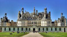#Chambord, merveilleux #château de la Renaissance dans la vallée de la #Loire. #France