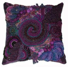 crochet pillow patterns | ... Crochet Interview with Renate Kirkpatrick - Crochet Patterns