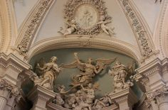 art, angel, and architecture image Saint Jean Baptiste, Art Et Architecture, Beige Aesthetic, Aesthetic Coffee, Aesthetic Vintage, Palaces, Belle Photo, Les Oeuvres, Beautiful Places