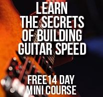 Here is a free guitar lesson on how to play guitar fast. The following are the best guitar speed exercises to practice in order to build high levels of guitar speed in a short amount of time.