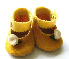 Precious Felted Booties