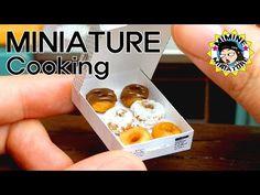 미니어쳐 진짜요리!! 도너츠 만들기 (+초코,슈가) Miniature cooking - doughnut ,donuts/ 미미네미니어쳐 ミミネミニチュア (mimine) - YouTube