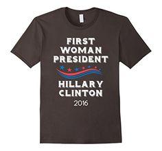 Men's First Woman President Hillary Clinton 2016 Politics... https://www.amazon.com/dp/B01LGLCF7M/ref=cm_sw_r_pi_dp_x_Oei7xbZ9X1YGM