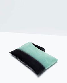 ZARA - SHOES & BAGS - Ombre clutch