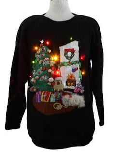 Awesome site for Tacky Christmas Sweaters...2nd Annual Party coming up!  @Jaime Tynski @Briana O'Higgins Emens