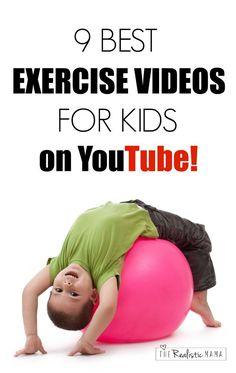 9 Free Exercise Videos on YouTube  for Kids - Love #7 (Kids Yoga!)