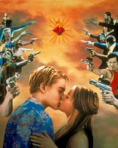 Romeo + Juliet by Baz Luhrmann Damien Sargue, Romeo Y Julieta, Young Leonardo Dicaprio, Star Crossed, Film Serie, Retro Aesthetic, Romeo And Juliet, William Shakespeare, Titanic