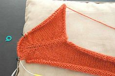 Ravelry: SusieM's Contiguous Set-In Sleeves