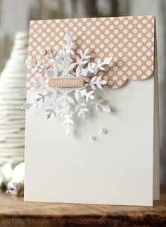 Christmas snowflakes by limedoodle - Cards and Paper Crafts at…