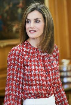 On September 9, 2016, Queen Letizia of Spain attended a audience to the National…