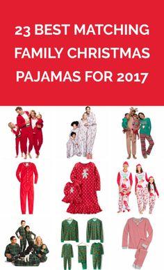 23 Best Matching Family Christmas Pajamas for 2017  e7560e01d