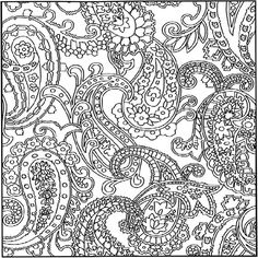 crazy pattern coloring pages