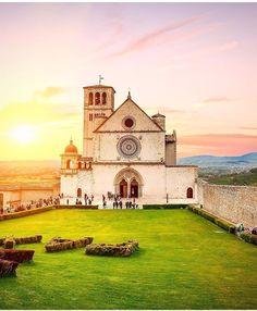 Assis, Umbria, Perugia, Itália