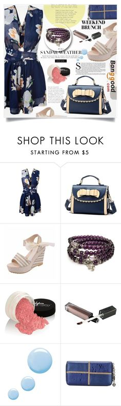 """Banggood 6."" by lillili25 ❤ liked on Polyvore featuring It Cosmetics, Topshop, casual, BangGood and fashionset"