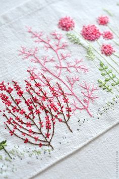 Spring embroidery