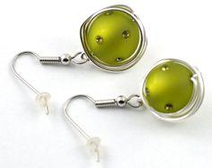Ohrringe Polaris-Swarovski Wrapp  von mia's dekostube auf DaWanda.com Swarovski, Etsy, Jewelery, Cufflinks, Accessories, Party, Earrings, Beads, Handmade