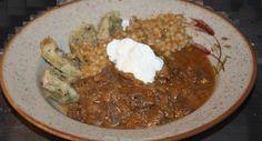zväčšiť - Kuracie srdiečka s krúpami a slepé kura Grains, Rice, Food, Meal, Essen, Hoods, Meals, Eten, Korn
