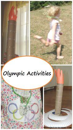 Kids Olympics Activities --- fun ideas for a preschooler Olympics field day
