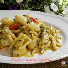 Trofie con pesto e patate, ricetta gustosissima