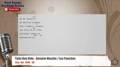 Toda Una Vida - Antonio Machin / Los Panchos Vocal Backing Track with ch...