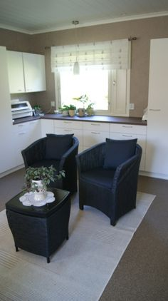 Referenssejä | Sisustus Trendo Outdoor Furniture Sets, Outdoor Decor, Kitchen, Design, Home Decor, Cooking, Decoration Home, Room Decor, Kitchens