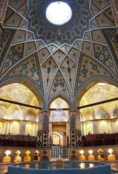 Soltan Amir Ahmad Bath House, Kashan, Iran حمام سلطان امیر احمد، کاشان ایران