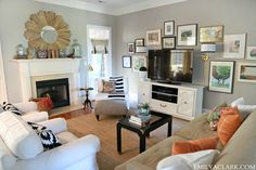 Rearranging Our Living Room Furniture & Adding A Coffee Table - Emily A. Clark