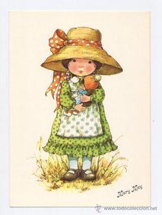 Mary May | POSTAL *MARY MAY* - PASEANDO CON LA MUÑECA (Postales - Dibujos y ...