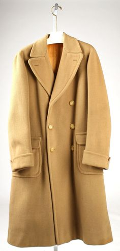 The classic Polo coat. It's on my wish list, but alas as long as I reside in CA, it would be utterly useless.