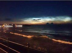 Raras nuvens noctilucentes são vistas no nordeste da Grã-Breranha » OVNI Hoje!