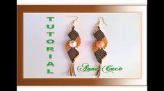 """Tutorial macramè orecchini """"Alma""""/ Tutorial macramè earrings """"Alma""""/ Diy..."""