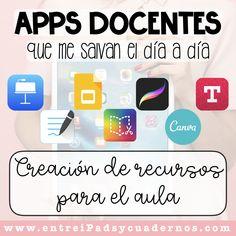 Apps For Teachers, Teacher Resources, Teaching Strategies, Teaching Tools, School Hacks, School Projects, Class Tools, School Plan, English Activities