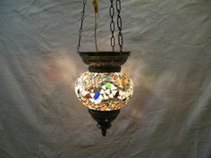 Moroccan Lantern türkische mosaik lampe glass chandelier Hanging Lamp m 094