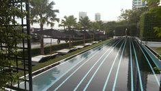 Swimming pool The Siam Hotel, Railroad Tracks, Swimming Pools, Swiming Pool, Pools, Train Tracks