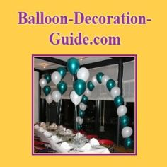 The trick in creating any stunning balloon bouquet is . blowing balloons to the same size. Read on to see all steps for this balloon centerpiece. Balloon Tower, Balloon Stands, Balloon Arch, Balloon Ideas, How To Make Balloon, One Balloon, Ballon Decorations, Balloon Centerpieces, Ballon Column