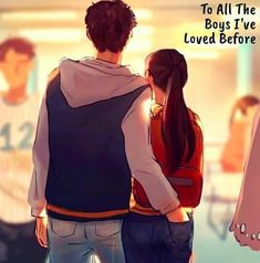 """SHERIN CENTINEO🌻 on Instagram: """"My best Christmas gift is to have seen this movie ... what is yours? #noahcentineo @ncentineo"""" Cute Couple Drawings, Cute Couple Cartoon, Cute Couple Art, Anime Love Couple, Lara Jean, Disney Couples, Cute Couples, Jean Peters, Jenny Han"""