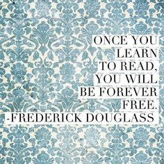 this brings tears to my eyes, coming from Frederick Douglass..