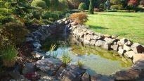 Realizace jezírka - Kopřivnice Firewood, Stepping Stones, Gardening, Outdoor Decor, Garten, Lawn And Garden, Wood Fuel, Horticulture