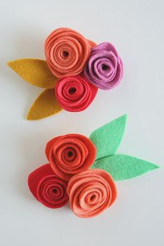 Best Diy Crafts Ideas For Your Home : Felt Flower Corsages so fun for Mother's Day