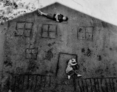 Laura & Brady in the Shadow of Our House, 1994 Abelardo Morell
