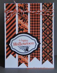 Spellbound Halloween Card -www.fancymelissa.com #cricut #ctmh