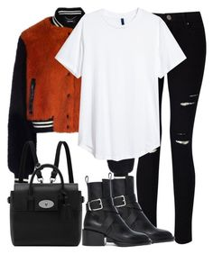 """""""Untitled #3226"""" by elenaday ❤ liked on Polyvore featuring Miss Selfridge, Jil Sander and Mulberry"""